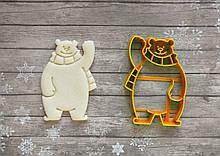 Полярний ведмідь - Форма для печива і пряників