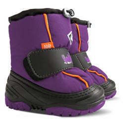 Детские сноубутсы DEMAR ICE SNOW фиолетовые 4033-C