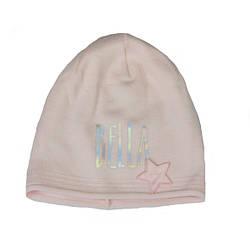 Шапка розового цвета для девочки, STACY