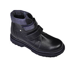 Детские ботинки синего цвета для мальчика, Шаговита