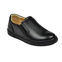 Туфли черного цвета для мальчика, ТМ Flamingo