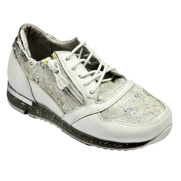 Серебристые кроссовки для девочки, Bistfor