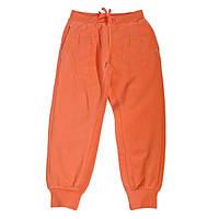 Оранжевые спортивные штаны Silver sun