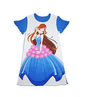 "Рубашка ночная ""Красавица"" с коротким рукавом Артикул 35.277А"