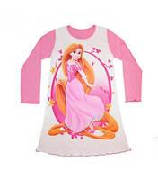 """Рубашка ночная """"Маргаритка"""" с длинным рукавом Артикул 35.240Б"""