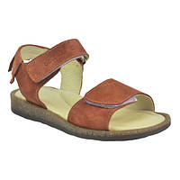 Босоножки для девочки коричневые, Eleven Shoes 27 размер