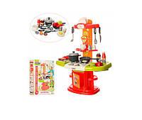 Детская игрушечная кухня 16808 (плита, духовка, мойка, посуда, продукты) 24 предмета Royaltoys