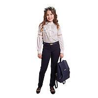 Школьные брюки для девочки Илана Suzie синие