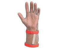 Перчатки кольчужные с крагой