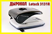 !РАСПРОДАЖА Дырокол Letack 3131R 40 листов Черный, фото 1