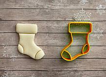 Шкарпетка для подарунків - Форма для печива і пряників