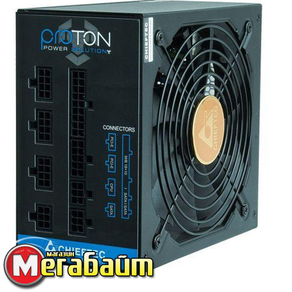 Блок питания Chieftec BDF-850C Proton, ATX 2.3, APFC, 14cm fan, КПД >85%, modular, RTL