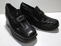 Туфли KICKERS, 37 (24 см), кожа, на платформе, Отл сост!
