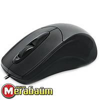 Мышь REAL-EL RM-207 черная USB, фото 1
