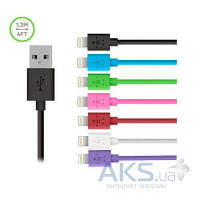 USB кабель Belkin Lightning for iPhone 1.2m (F8J023bt04-PR) Violet