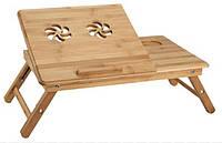 Столик-подставка для ноутбука,планшета или столик для завтрака деревянный