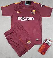 Футбольная форма Барселона безномерная, резервная сезон 2017/2018