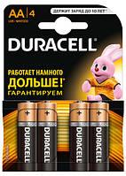Батарейки Duracell Пальчиковые AA R06 MN1500 4 шт/блистер