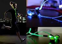Светящиеся вакуумные наушники AT-618LED, Iglo Pulse Хит продаж!