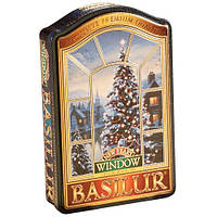 Чай черный Basilur Коллекция Окна Новый год 100г