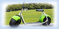 Электробайк Sity Coco 1000W 60V зеленый