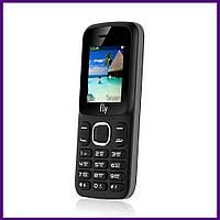 Телефон Fly FF180 (BLACK). Гарантия в Украине 1 год!