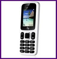 Телефон Fly FF180 (WHITE). Гарантия в Украине 1 год!