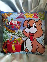 Новогодняя сувенирная подушка!