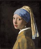 Картина по номерам Девушка с жемчужной сережкой G223 (40*50 см)