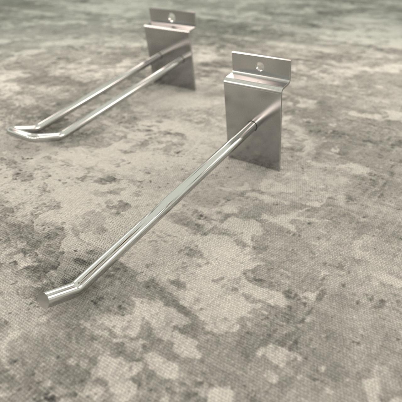 Крючки для экономпанелей | хромированные 150 мм