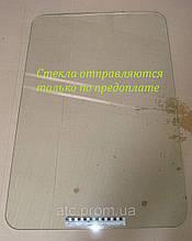 Стекло ЮМЗ УК дверки верхнее новая кабина (847х622) 45Т-6708019