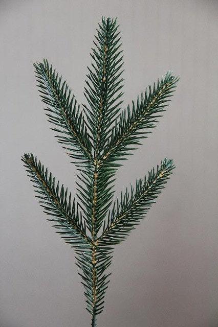 Искусственная ветка ели Элит - 5 Зелёная