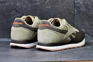 Мужские кроссовки Reebok бежевые с коричневым, фото 2