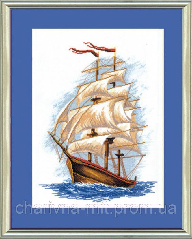 Вышивка крестом корабли 1 - Dimensions, Anchor, Риолис 91