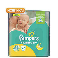 Подгузник Pampers New Baby-Dry Mini (3-6 кг), 27шт (4015400537397)
