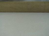 Сетка бежевая с золотом , металлизированная на метраж(по типу кольчуги) шириной 85 см