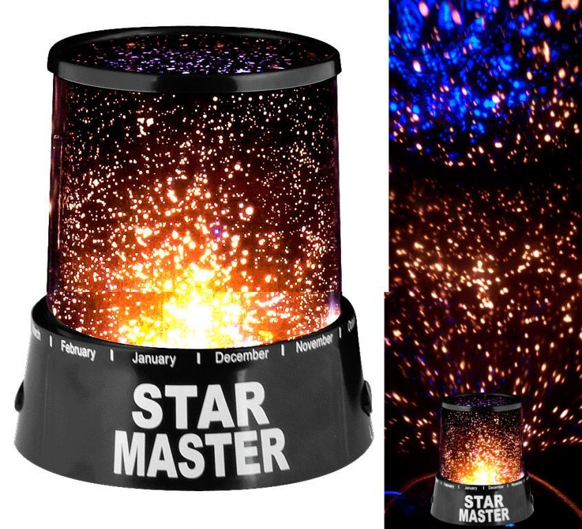 Проектор звездного неба Ночник Star master с адаптером 220В  Акция !!!