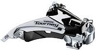 Переключатель передний Shimano Tourney FD-TY500 Top-Swing универсальная тяга 66-69° для 42Т (OEM)