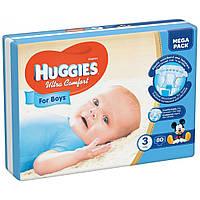 Подгузник Huggies Ultra Comfort 3 Mega для мальчиков (5-9 кг) 80 шт (5029053543598)