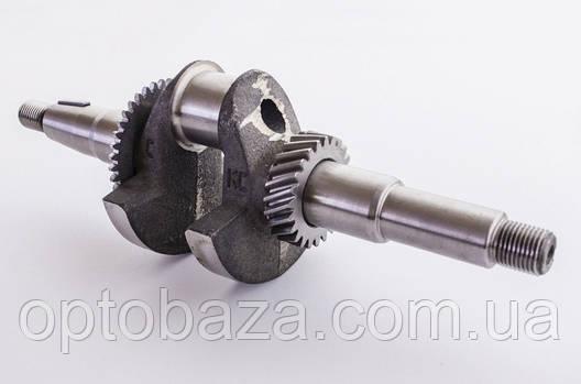 Коленчатый вал под резьбу (16 мм) для двигателей  6,5 л.с. (168F), фото 2