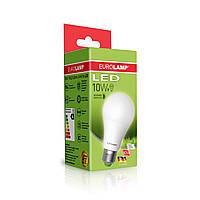 Классическая светодиодная EUROLAMP LED EKO  A60 10W E27 4000K