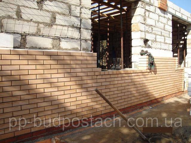 Стена из облицовочного кирпича - утепление и эстетика
