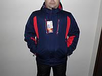 Горно-лыжная куртка сине-красный.
