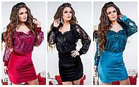 Женское нарядное платье на новый год р. 42-44