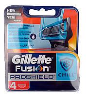 Gillette Fusion ProShield Chill Картриджи для бритья с холодком (4 шт) Колумбия