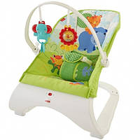 Массажное кресло-качалка Тропические друзья Fisher-Price, фото 1