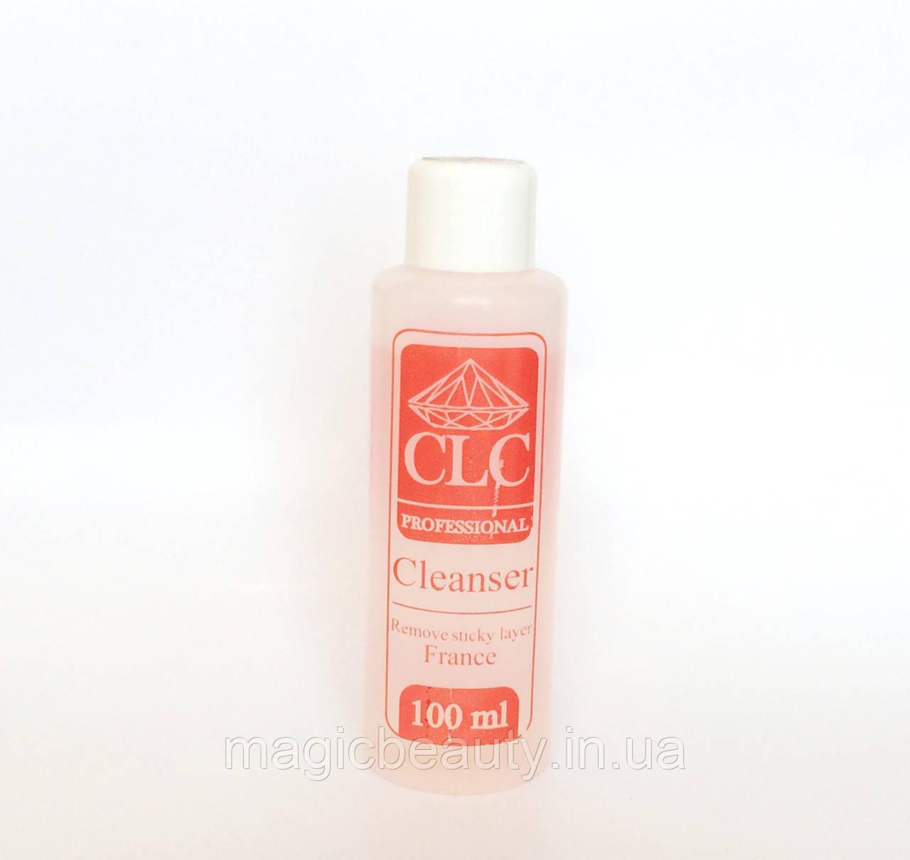 Жидкость для снятия липкого слоя CLC PRO Cleanser 100ml (Вишня)