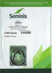 Семена капусты Аммон AMMON F1 2500 с