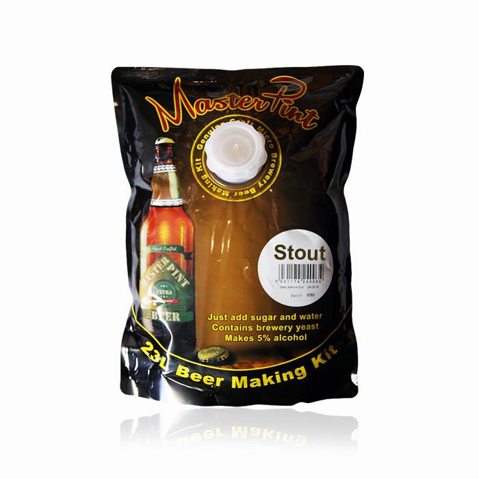 Экстракт пива Master Pint - Stout 1.6кг
