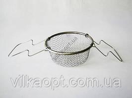 Фритюрница нержавеющая 14 х 9,5 cm (100 шт)